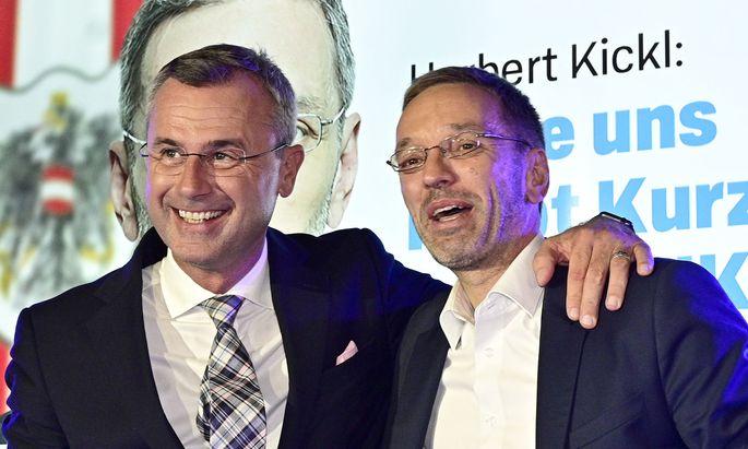 Herbert Kickl hat mehr Vorzugsstimmen bekommen als FPÖ-Parteichef Norbert Hofer