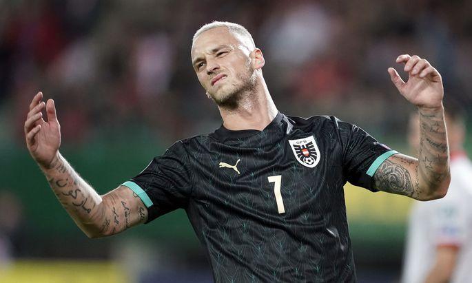 Auch Fußball-Legionär Marko Arnautović ist unmittelbar von Präventivmaßnahmen betroffen.