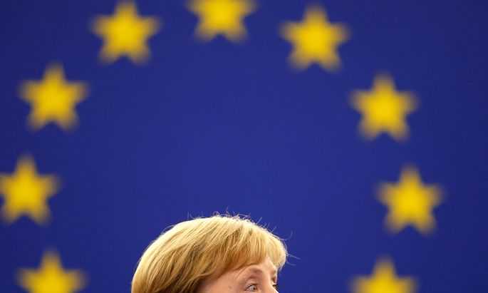 Deutschlands Kanzlerin Angela Merkel schließt einen Wechsel nach Brüssel aus.
