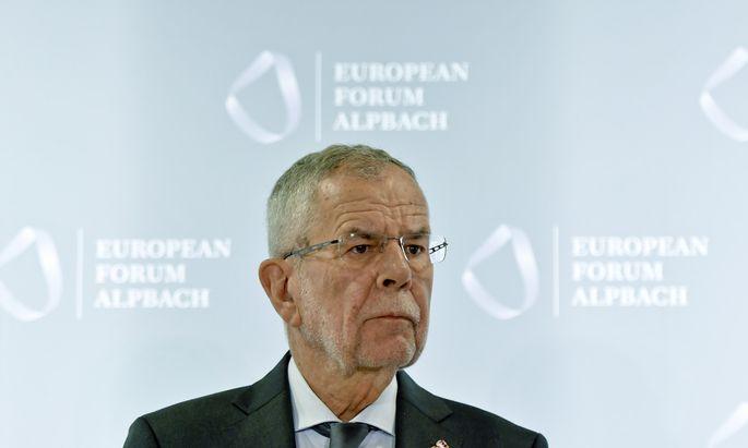 EUROP�ISCHES FORUM ALPBACH 2018: VAN DER BELLEN