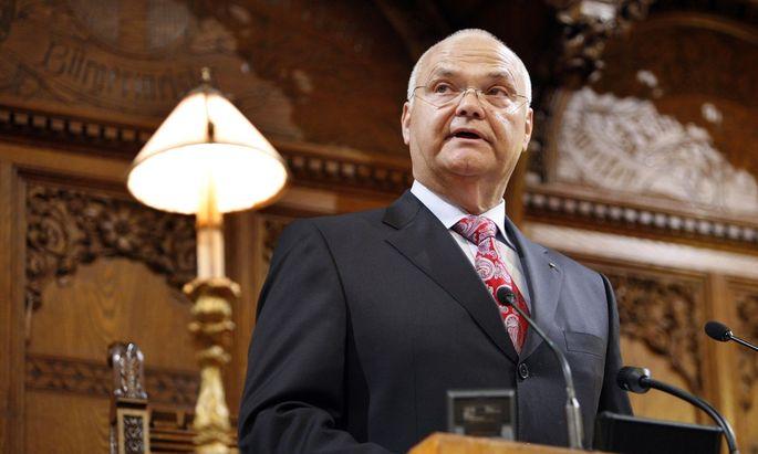 Landtagspräsident Harry Kopietz, langjähriger Vertrauter Michael Häupls.