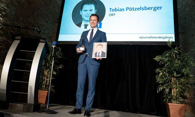 Tobias Pötzelsberger wird Journalist des Jahres 2019.