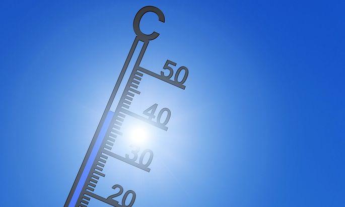 Steigende Temperaturen.