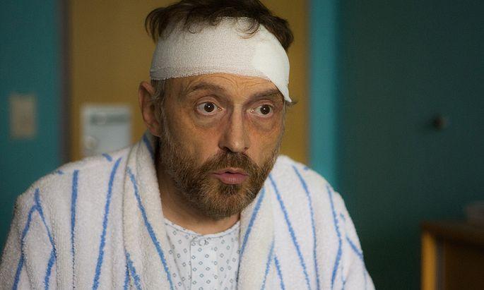 Josef Hader als Simon Brenner in ''Das ewige Leben''