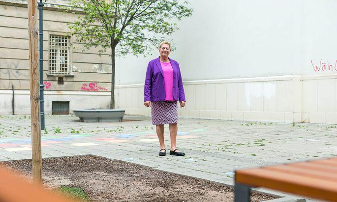 Ursula Lichtenegger (Grüne) ist seit 2015 Bezirksvorsteherin der Leopoldstadt.