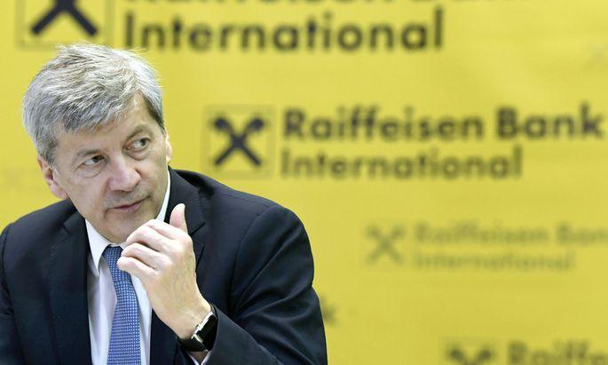 Die Auswirkungen der US-Sanktionen seien gering, sagt RBI-Chef Johann Strobl.