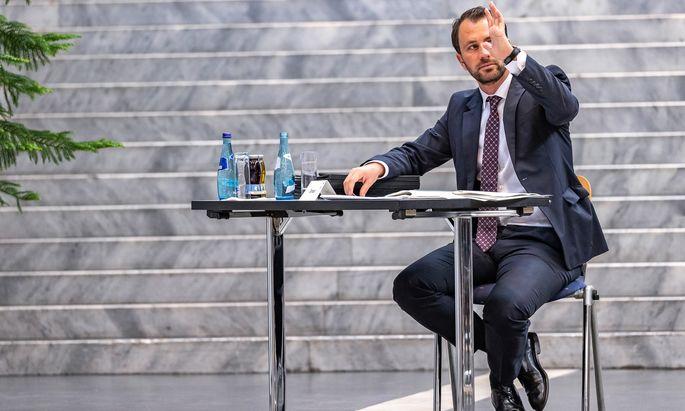 Tirols SPÖ-Chef Georg Dornauer.