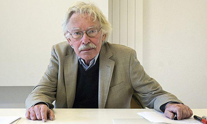 Medientheoretiker Friedrich Kittler
