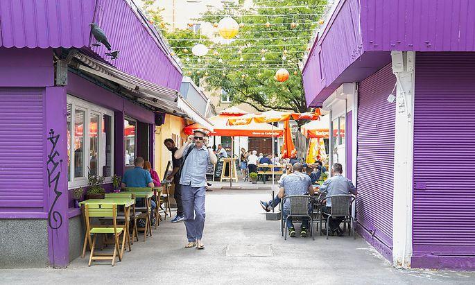 Authentisch und durchgemischt: Am Meidlinger Markt gibt es einen Hauch Türkei, Balkan und trendige Lokale.