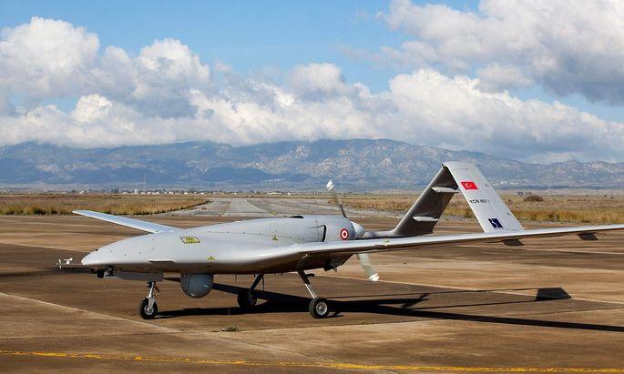 FILES-CYPRUS-TURKEY-MOROCCO-DEFENCE-DRONE