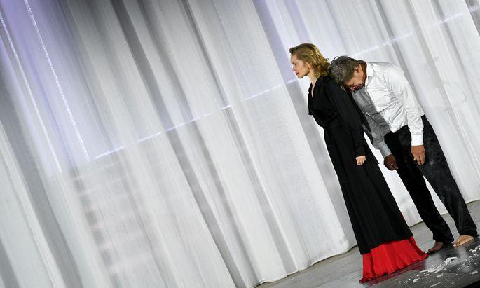 Valery Tscheplanowa hat Franz Moor, Maria Stuart und Gretchen gespielt, ab heute, Samstag, ist sie Jedermann Tobias Morettis Buhlschaft bei den Salzburger Festspielen.