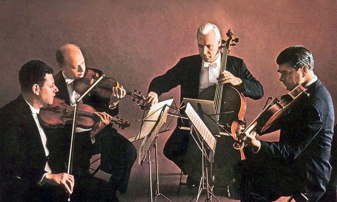 Präzision und Aggressivität: Das Juilliard String Quartet spielt Bartók.