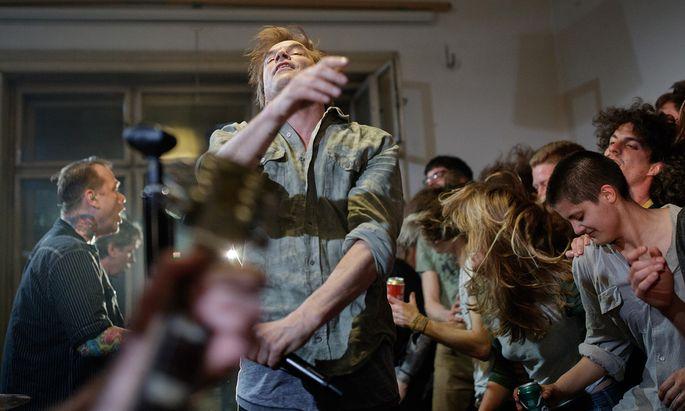 Toten-Hosen-Sänger Campino beim Konzert in der Wiener WG