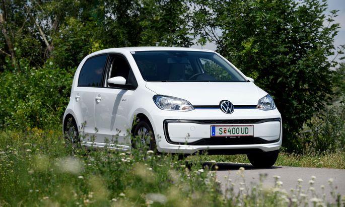 Klein, umweltfreundlich und sparsam: die elektrische Version des VW Up.