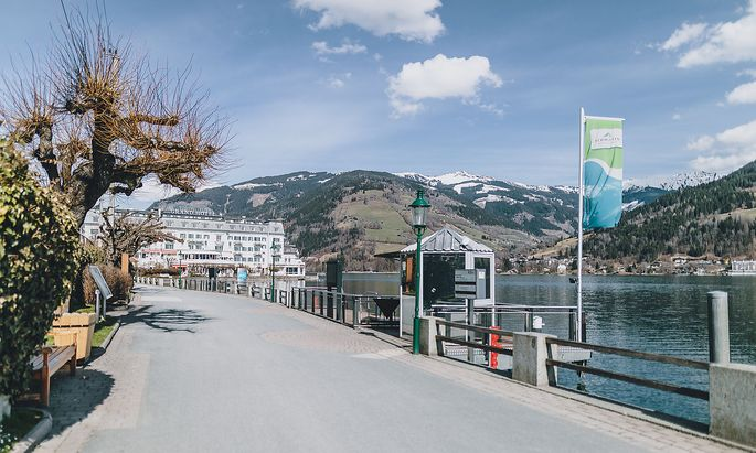 SALZBURG: CORONAVIRUS - SITUATION IN ZELL AM SEE