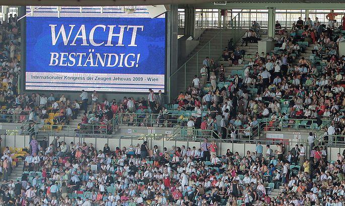 Archivbild: Kongress der Zeugen Jehovas 2009 im Wiener Ernst-Happel-Stadion