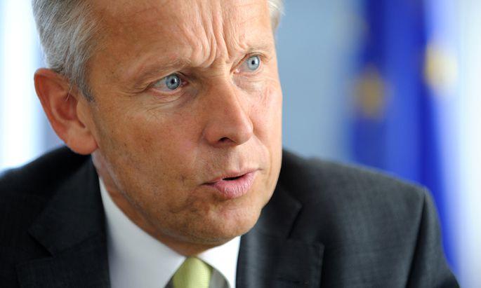 Staatssekretär Reinhold Lopatka