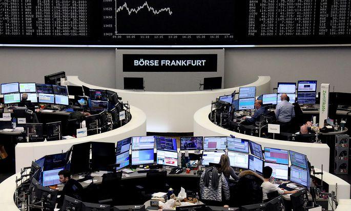 Die Frankfurter Börse am 17. Jänner.