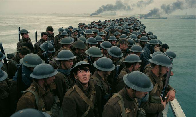 """Menschen sind nur Rädchen im Getriebe: Christopher Nolans """"Dunkirk""""."""
