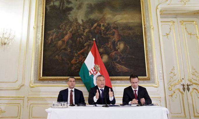 Beim Wien-Besuch 2015 stellte sich Orbán den Journalisten. Dieses Mal sind Medien unerwünscht.