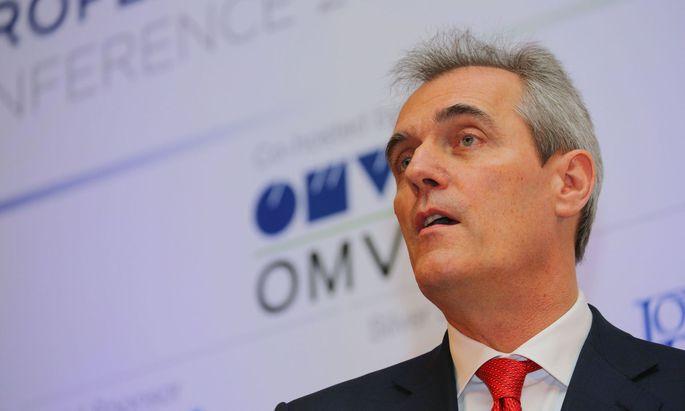 OMV-Chef Rainer Seele will Dividende erhöhen