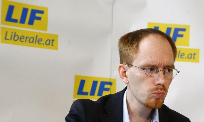 Alexander Zach, Ex-Chef des Liberalen Forums (Archivbild, September 2008).