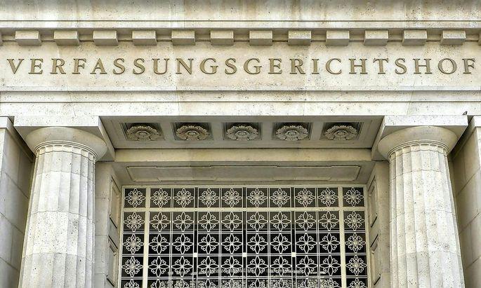 Der Verfassungsgerichtshof in Wien