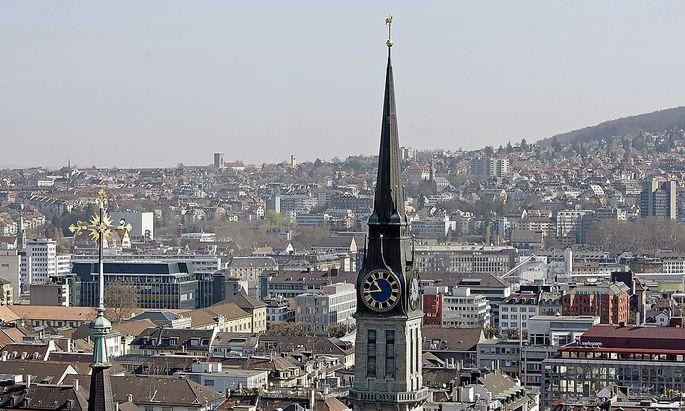SCHWEIZ ZURICH CITY