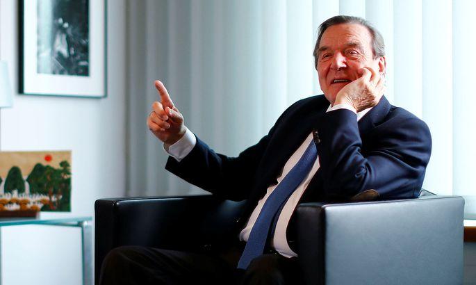 Schröder im Interview mit Reuters