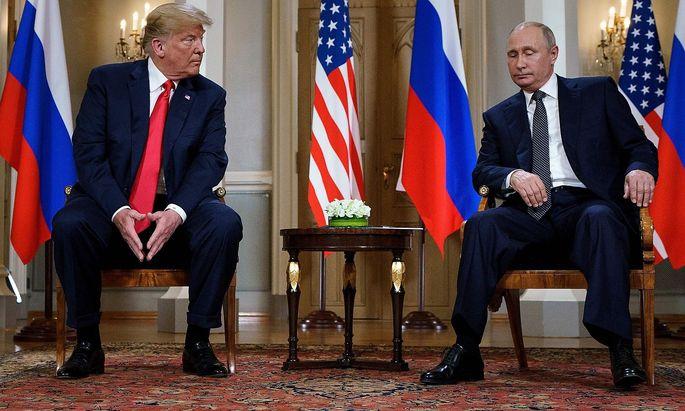Archivbild aus dem Juli 2018. Der damalige US-Präsident Donald Trump war schon aus dem Abkommen ausgestiegen - Putin und Russland folgen nun.