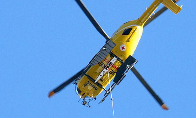 Symbolbild: Ein Christophorus-Hubschrauber des ÖAMTC