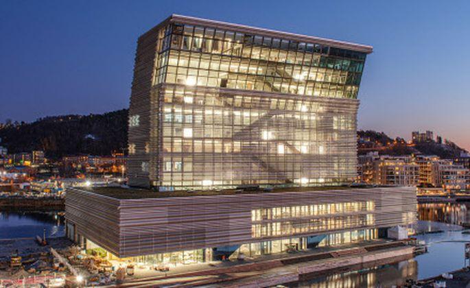 """Exaltierte Architektur für Munchs """"Schrei"""": das neue Munch-Museum in Oslo."""