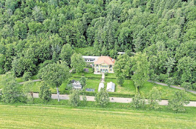 Ein Wohlfühlort für Naturverbundene: Das Institut ist in einer alten Villa im Dreisamtal untergebracht, östlich von Freiburg.