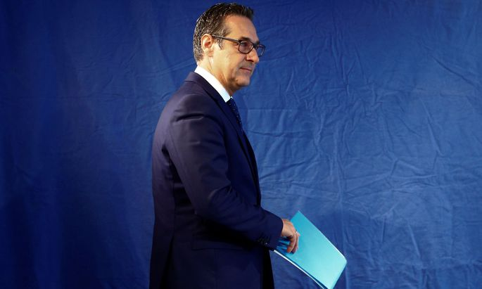 FPÖ-Chef Strache