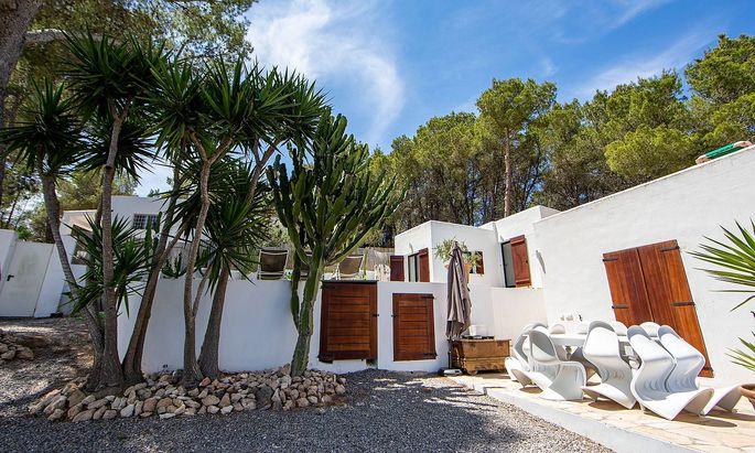Das Ferienhaus, in dem das Ibiza-Video entstand