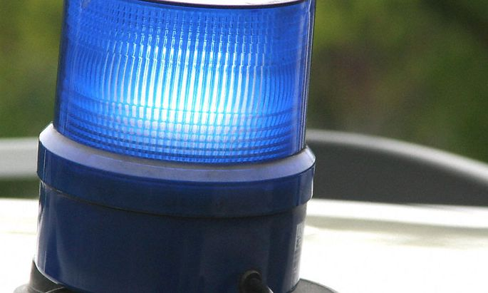 Blaulicht - police flash lamp