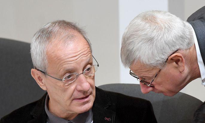 Peter Pilz und Bruno Rossman.