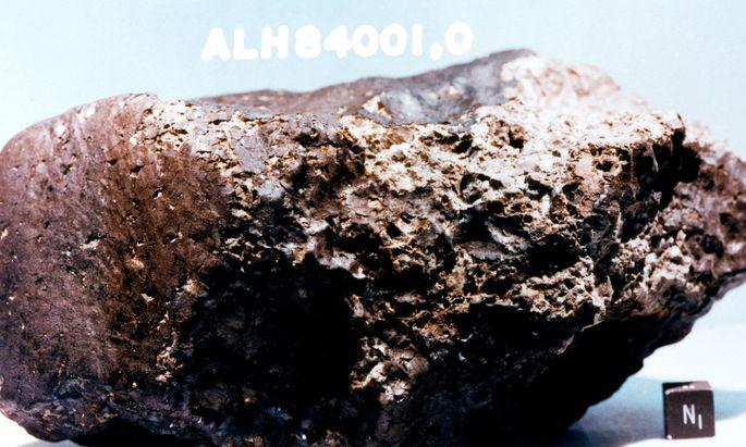 Der Marsmeteor ALH 84001 wurde von der Nasa als Beweis für früheres Leben auf dem Nachbarn gefeiert. Zu Unrecht.