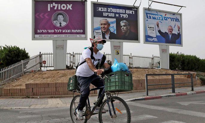 Eine weitere Wahl scheint in Israel nicht ausgeschlossen, denn eine Regierungsbildung nach der jüngsten wirkt nur schwer lösbar.