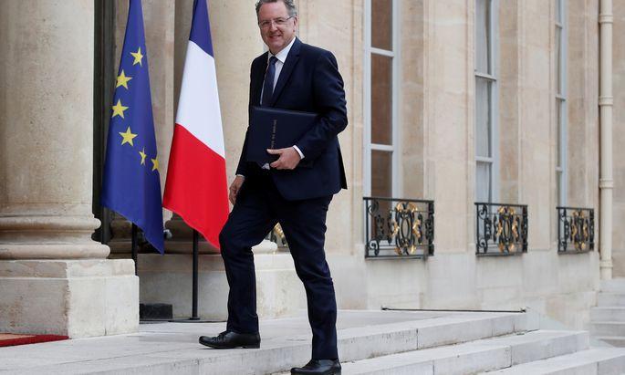 Minister Ferrand, ein Bretone, steht kaum drei Wochen nach Antritt der neuen Regierung schon im Zwielicht.