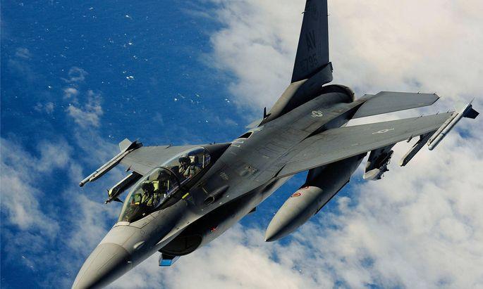 F-16 Fighting Falcon der US-Luftwaffe.