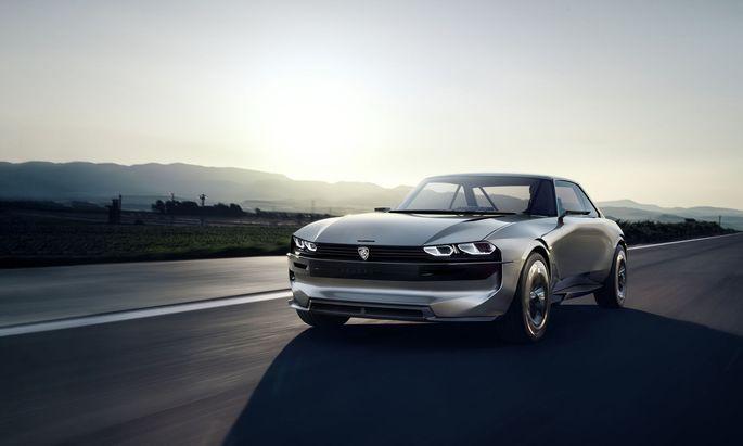 """Studie E-Legend: """"Spaß, Gelassenheit, Einfachheit"""" will Peugeot künftig vermitteln."""