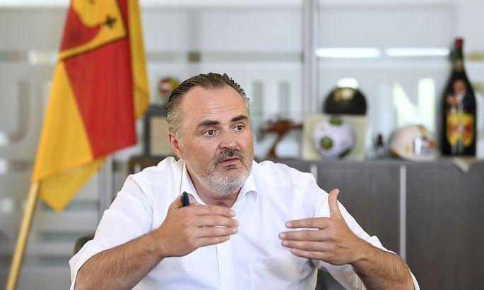 INTERVIEW MIT BURGENLAeNDISCHEN LANDESHAUPTMANN HANS PETER DOSKOZIL