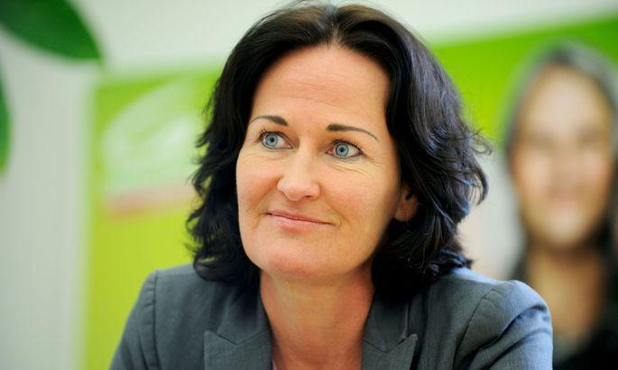 Grüne Bundessprecherin Eva Glawischnig
