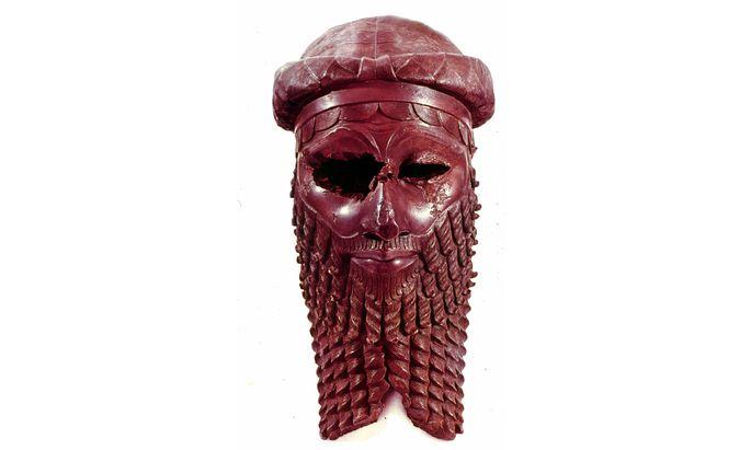 Es war wohl ein hartes Los, in seinem Reich zu leben: Sargon, König von Akkad, um 2250 v. Chr. Sein Bronzekopf schmückt ein Museum in Bagdad.