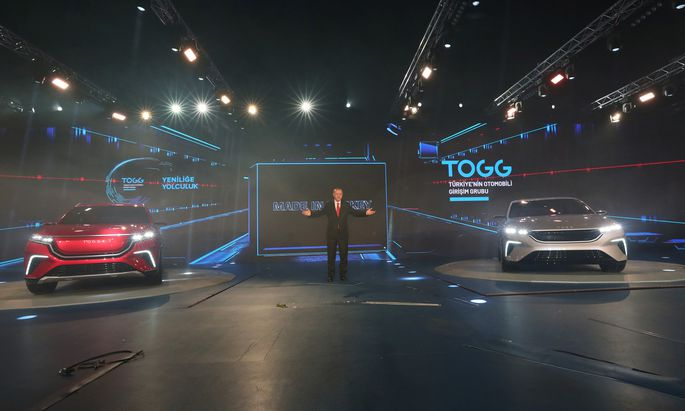 Projekt TOGG: Türkei-Präsident Erdogan präsentiert erstes eigenes Elektroauto