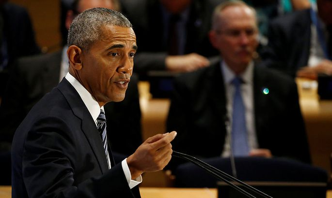 Obama vergleicht die Flüchtlingskrise mit dem Kampf gegen Nazi-Deutschland.