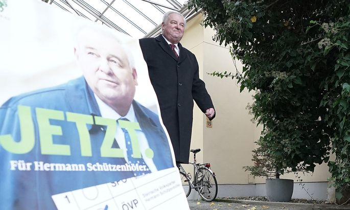 Wahlsieger Hermann Schützenhöfer