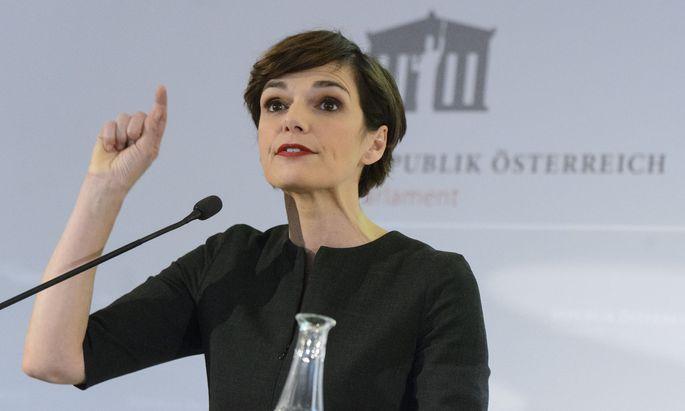 SPÖ-Vorsitzende Pamela Rendi-Wagner