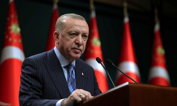"""Präsidenten Recep Tayyip Erdogan wirft Israel unter """"Terrorismus"""" gegen die Palästinenser vor"""